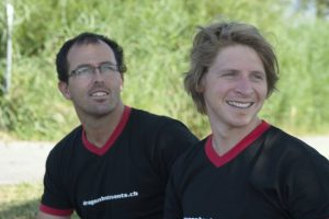 Daniel Schmid and Felix Meier